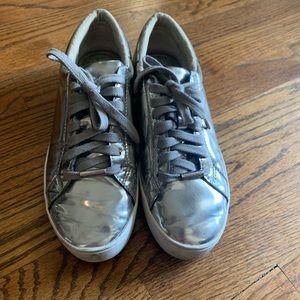 Michael Kors silver sneaker